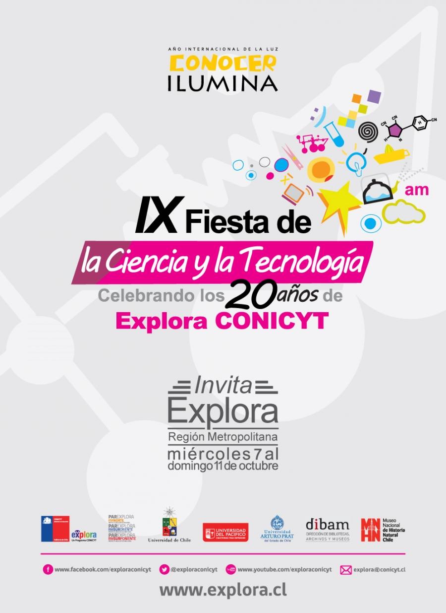 Facultad de Ingeniería UDP participará en la IX Fiesta de la Ciencia y la Tecnología