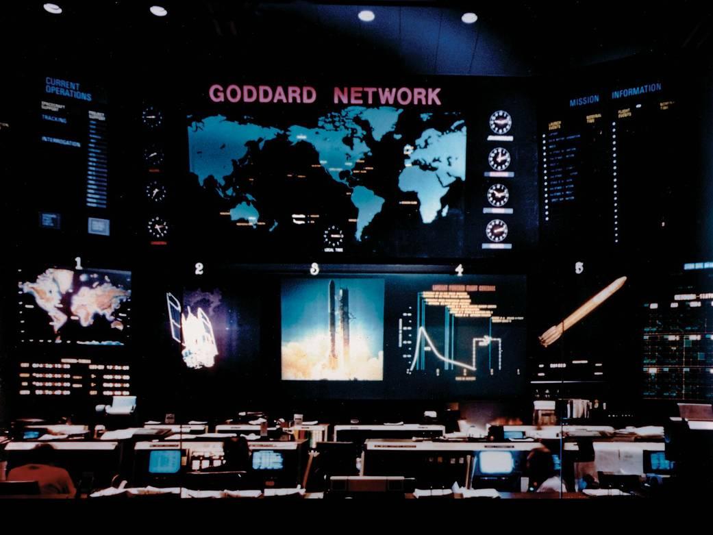 Interior del Centro Goddard