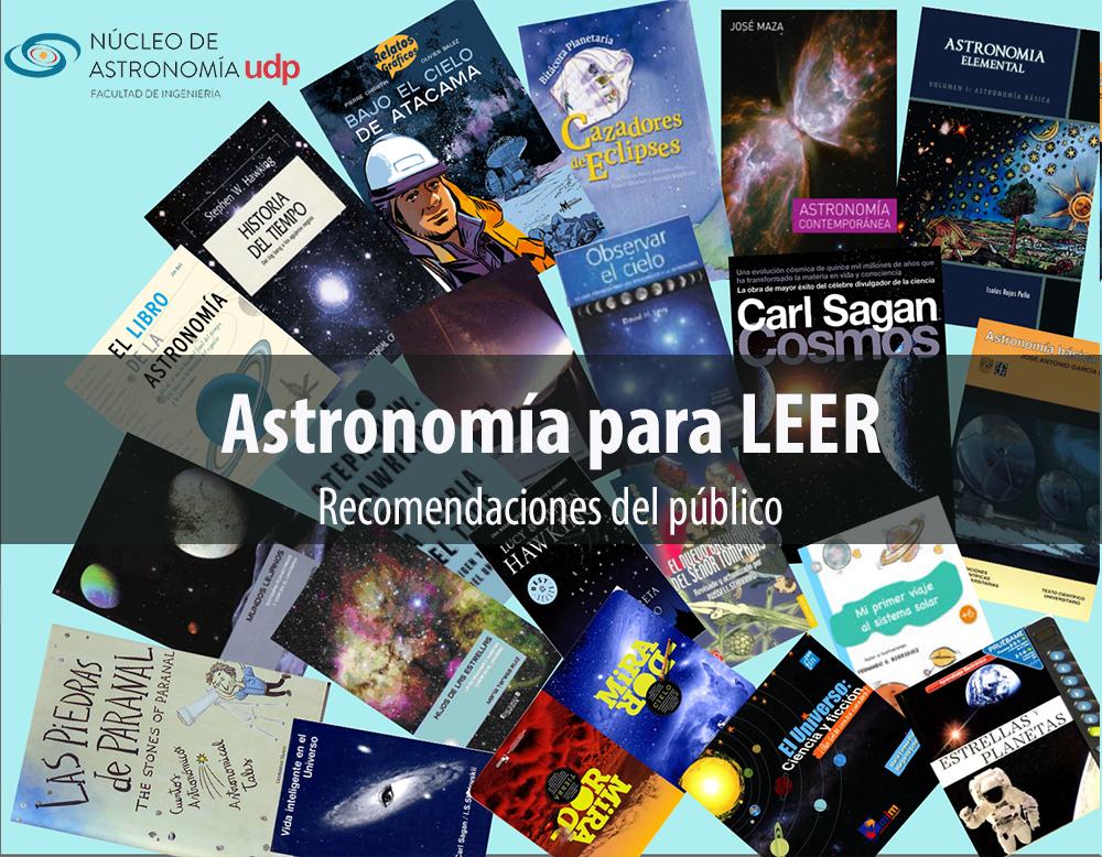 Astronomía para LEER: Recomendaciones del público