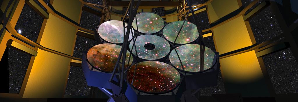 Núcleo de Astronomía estuvo presente en la primera piedra del Telescopio Gigante Magallanes (GMT)