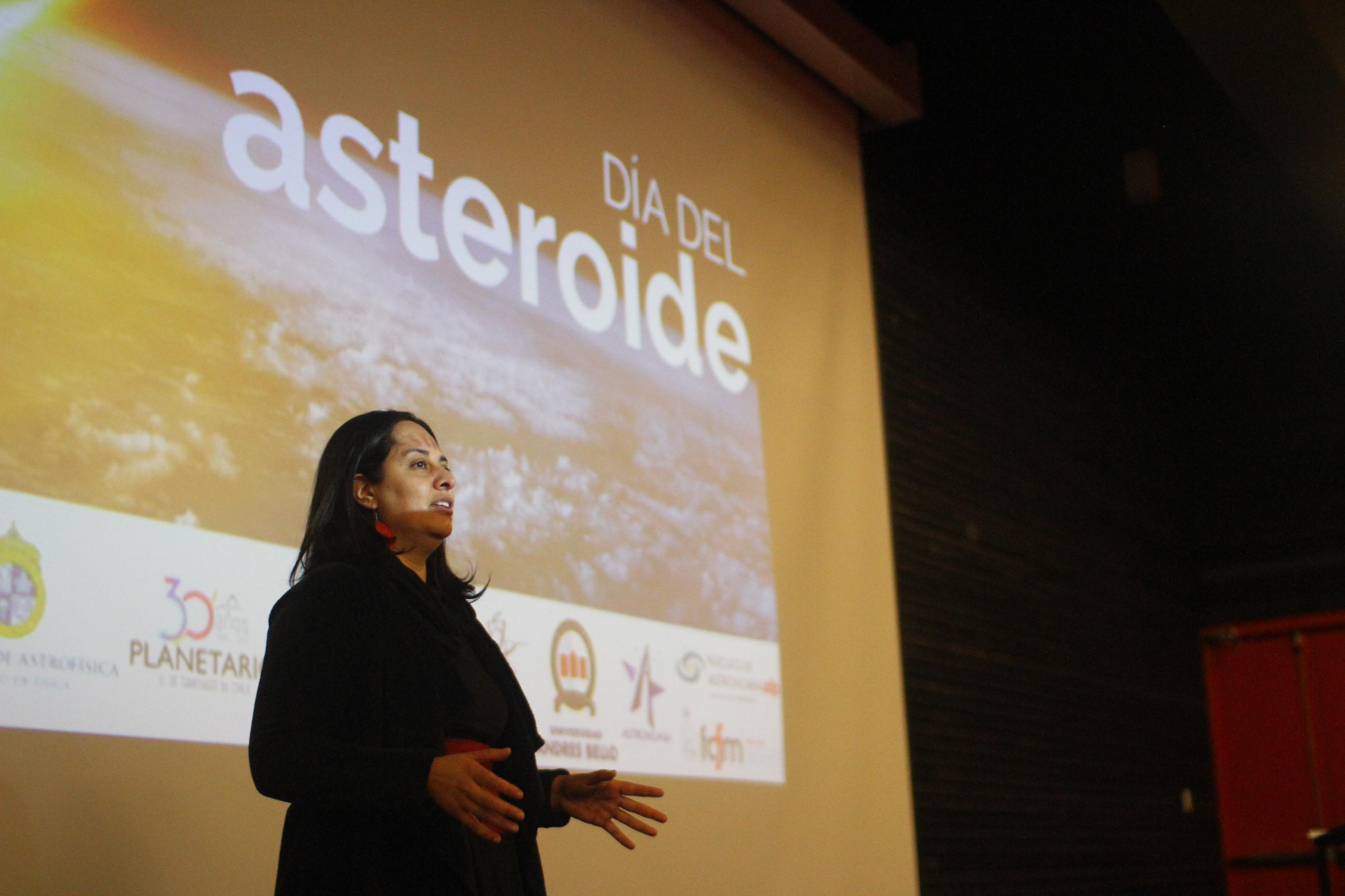 Núcleo de Astronomía UDP celebra Día Mundial del Asteroide