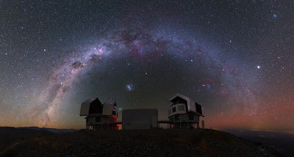Gran proto-cúmulo de galaxias descubierto en pleno proceso de despejar la niebla cósmica