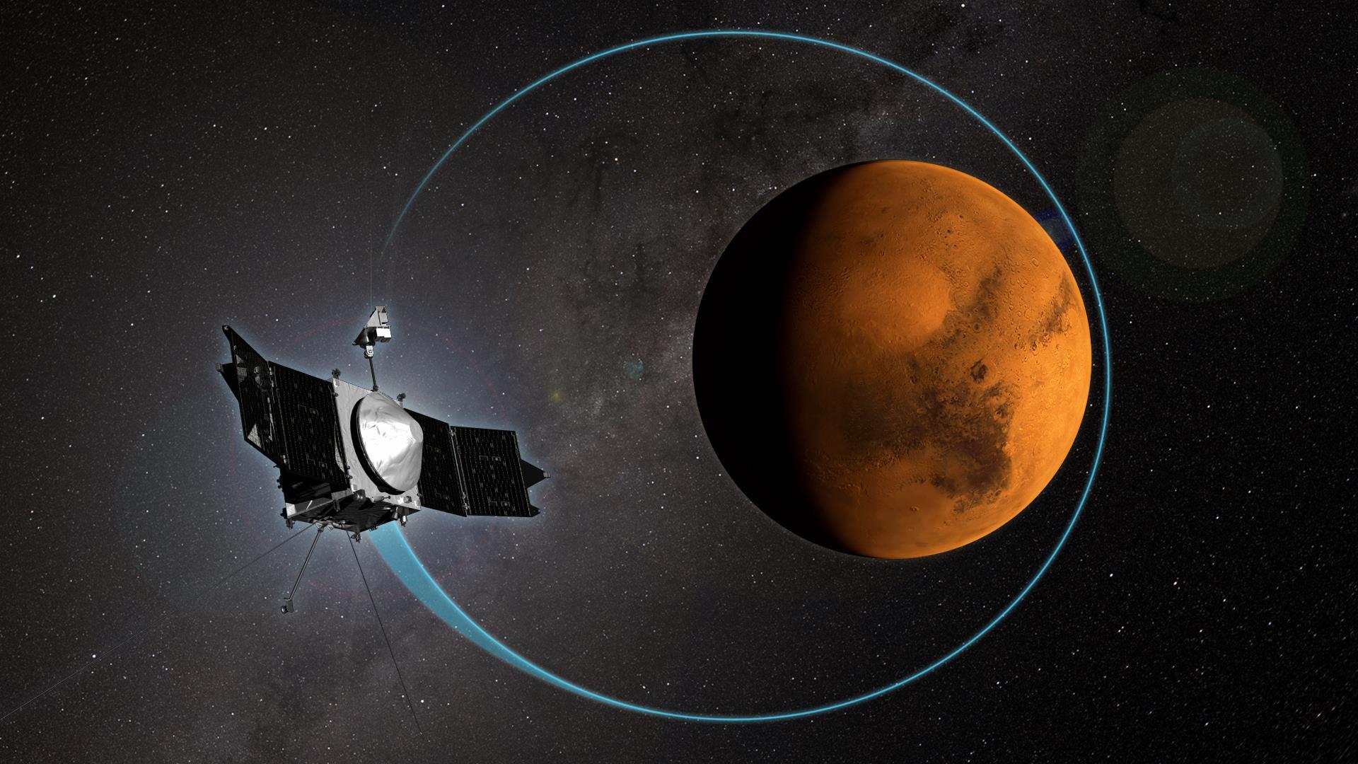 MAVEN, 1.000 vueltas a Marte