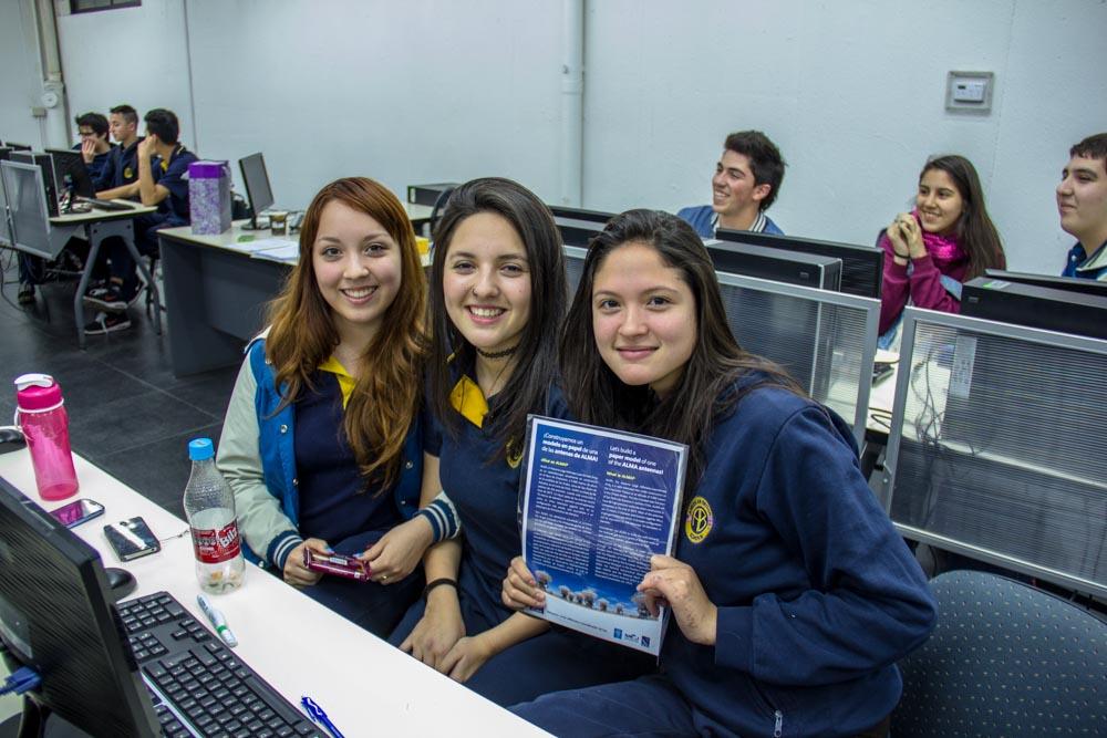Núcleo de Astronomía UDP realiza primer taller astronómico para alumnos del colegio American British School