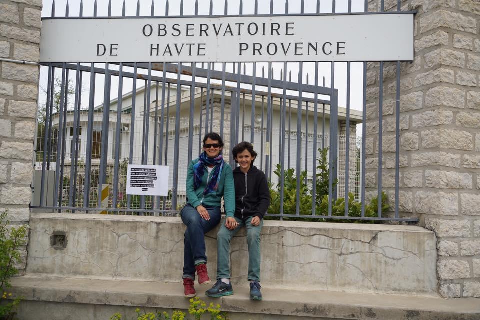 AstroPatiperros 3 en Francia: Observatorio Haute Provence