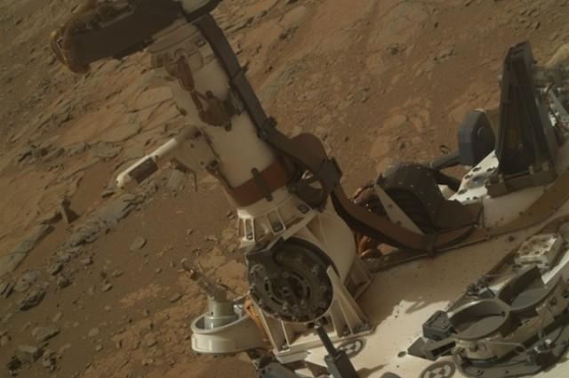 Curiosity Rover encuentra evidencia de agua liquida en Marte