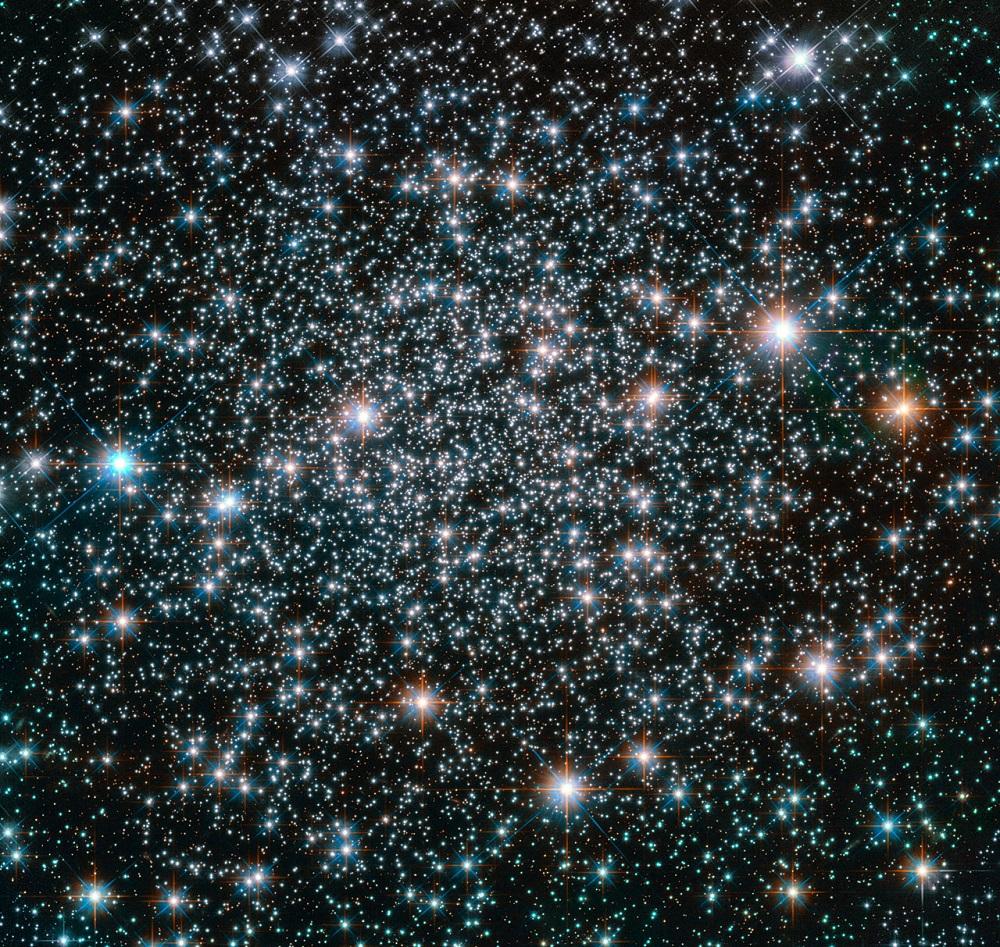 Hubble rockea en el hogar de metales pesados