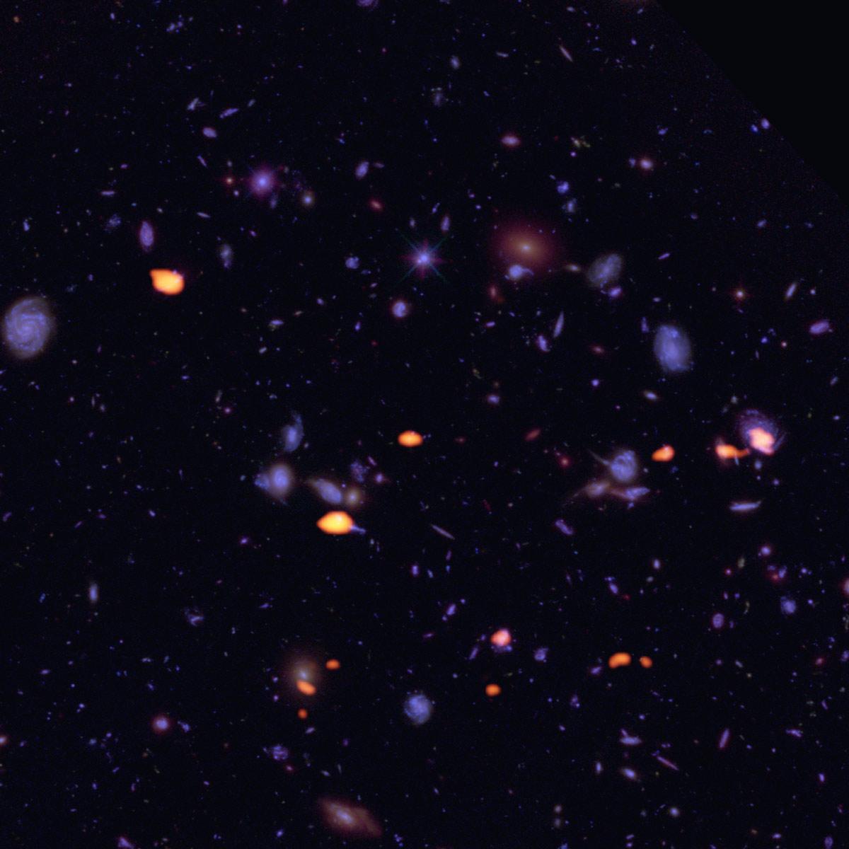 (Español) ALMA explora el Campo Ultra Profundo del Hubble