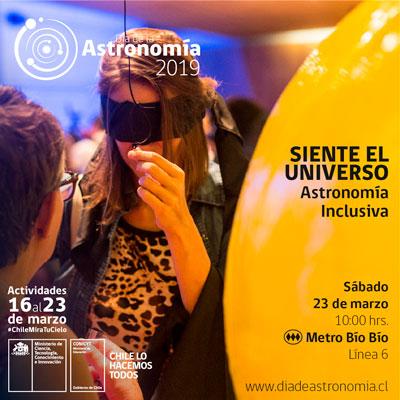 (Español) Núcleo de Astronomía celebra Día de la Astronomía con actividades inclusivas