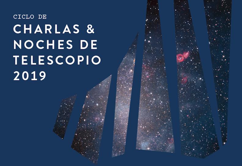 Charlas y Noches de Telescopio 2do semestre 2019