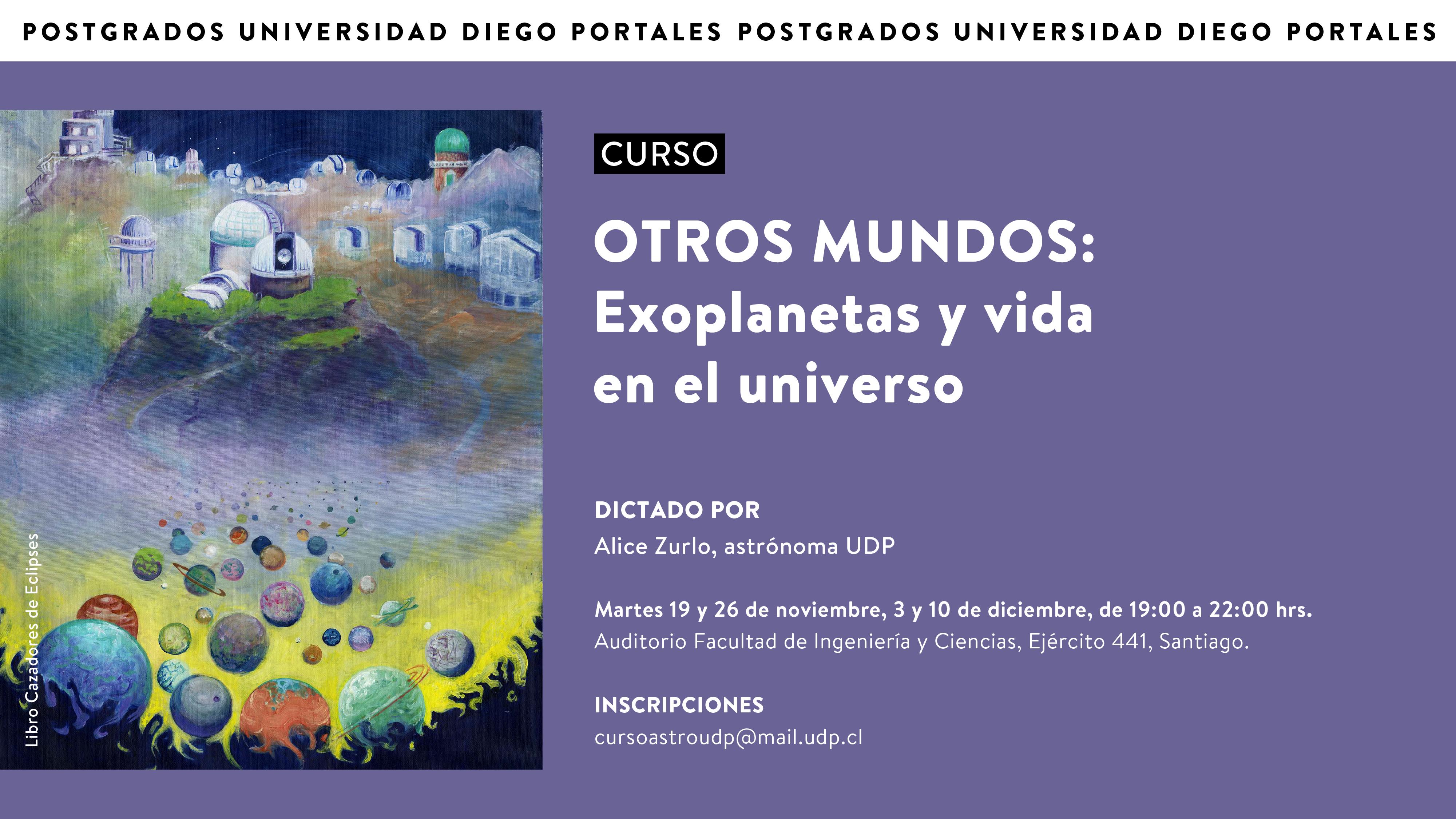 SUSPENDIDO: Curso Abierto «Otros mundos: Exoplanetas y vida en el Universo» con Alice Zurlo