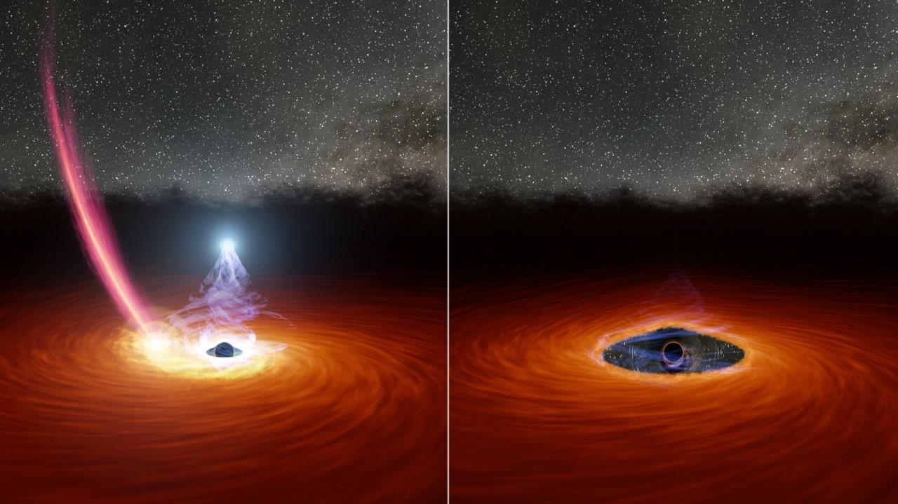 Estrella fugitiva podría explicar la desaparición de un agujero negro