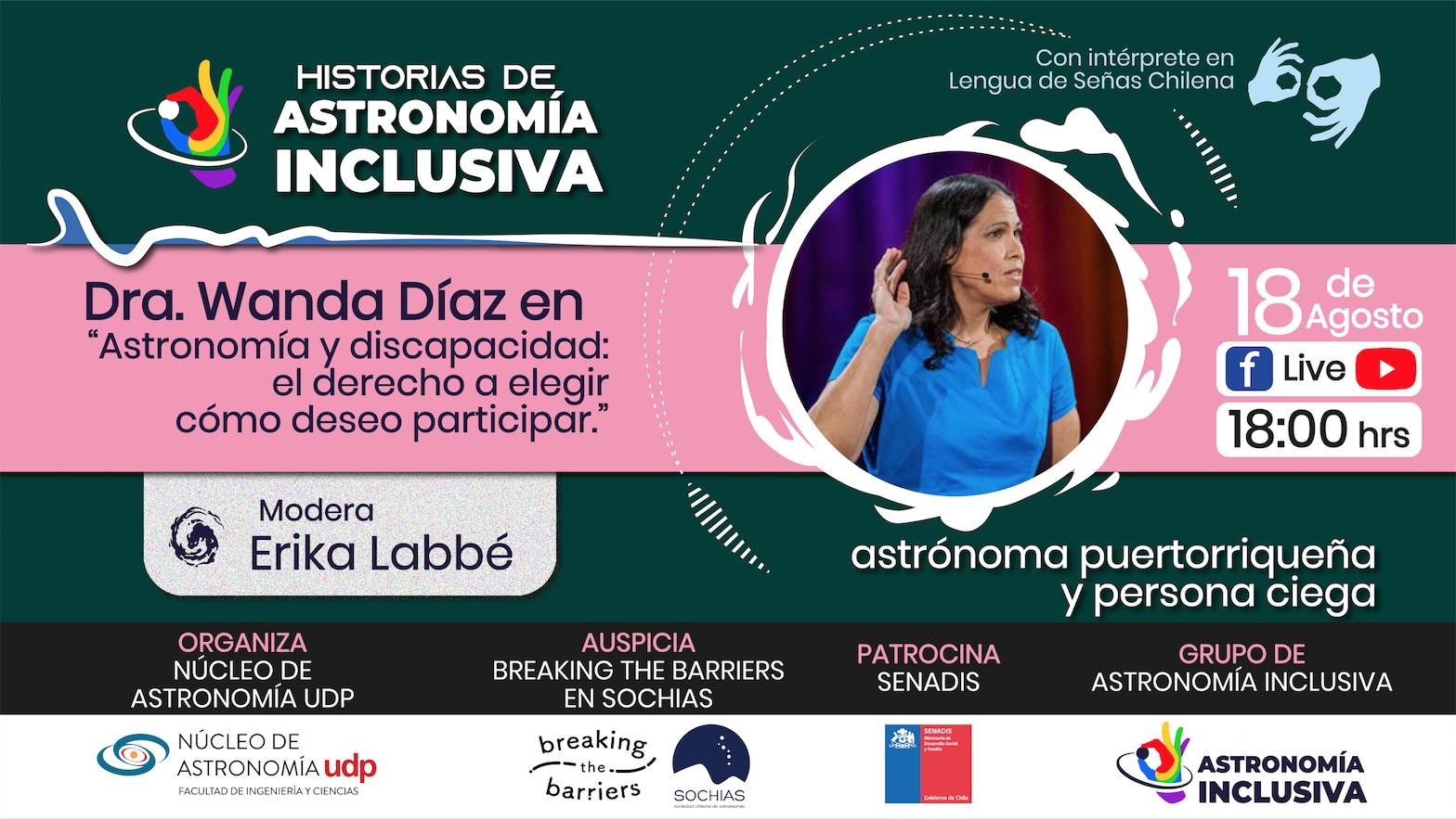 Serie online «Historias de Astronomía Inclusiva»