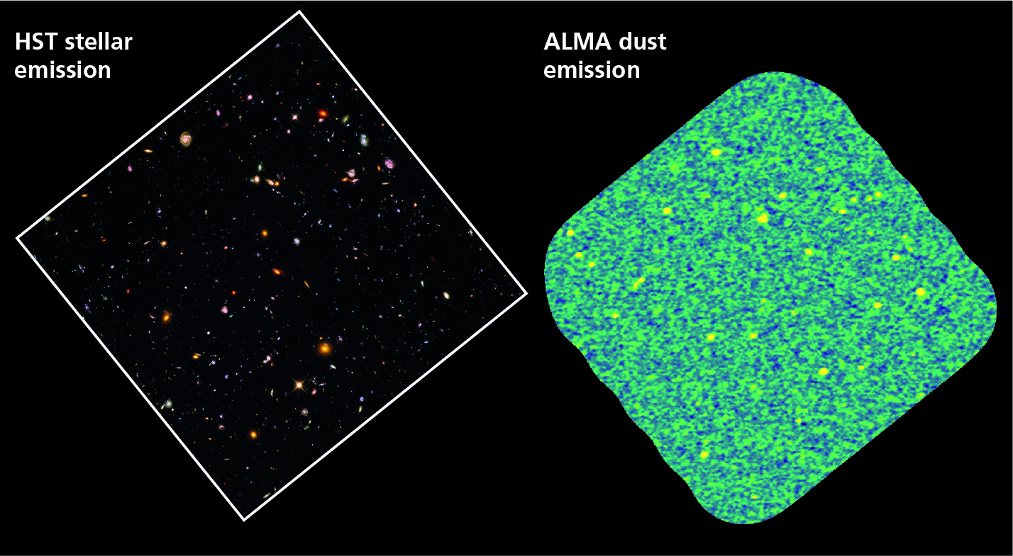 UDP astronomers obtain the deepest ALMA observations in the Hubble UDF