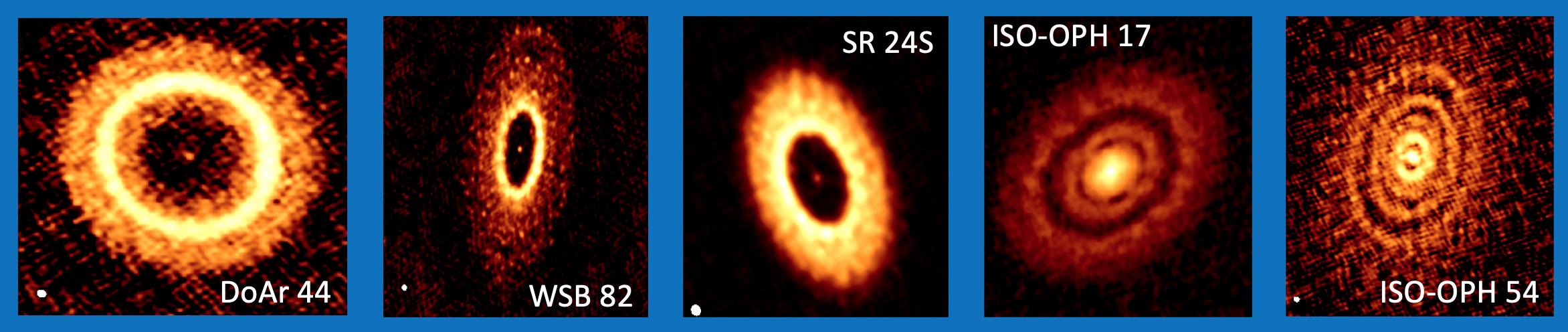 Contemplando la formación de planetas con ALMA