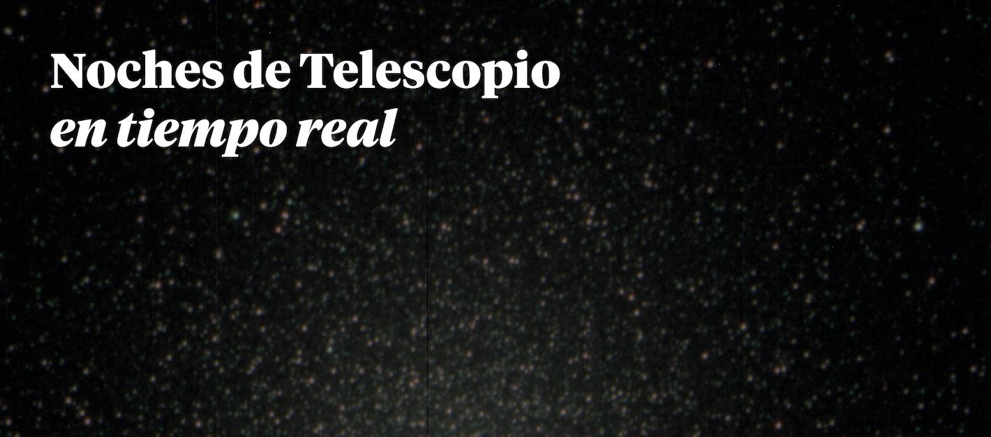 Noches de Telescopio en Tiempo Real – Día del Asteroide